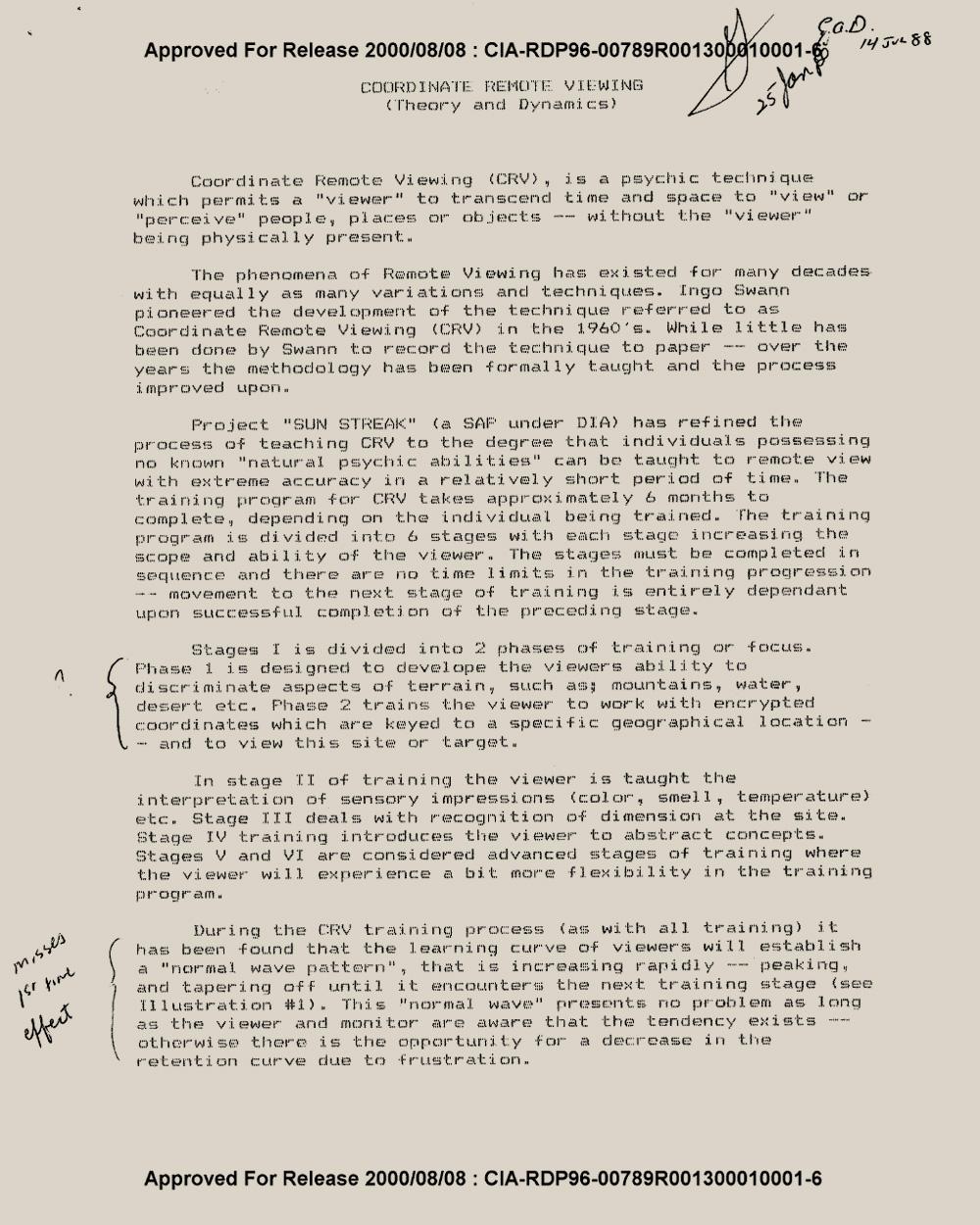 CRV   CIA document